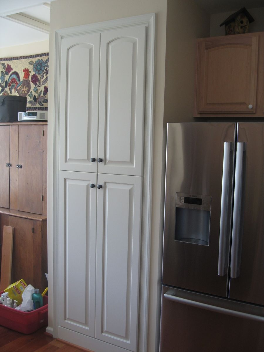 Built in kitchen pantry cabinet - Kitchen Pantry Closet