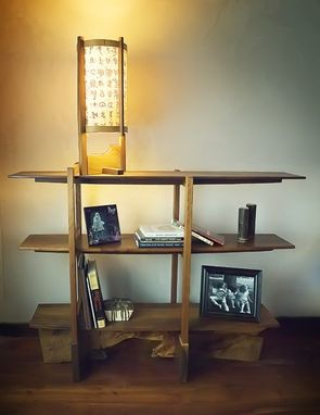 Custom Made Cantilever Bookshelf