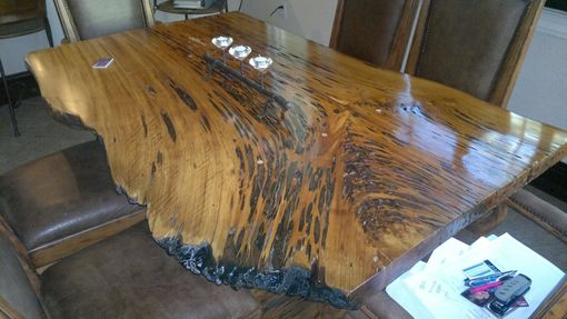 Custom Made Live Edge Table
