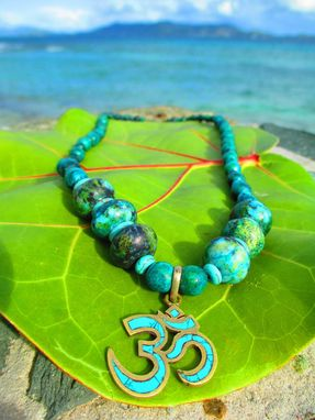 Custom Made Jewels Of Emocean- Om Necklace
