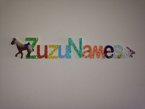 Custom Made Wooden Names-Palques