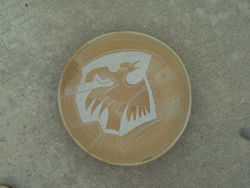 Custom Made Stoneware Plate