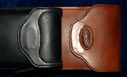 Custom Made Contrast Leather Poolstick Case