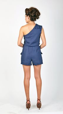 Custom Made One Shoulder Romper
