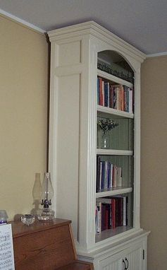 Custom Made Cottage Bookcases