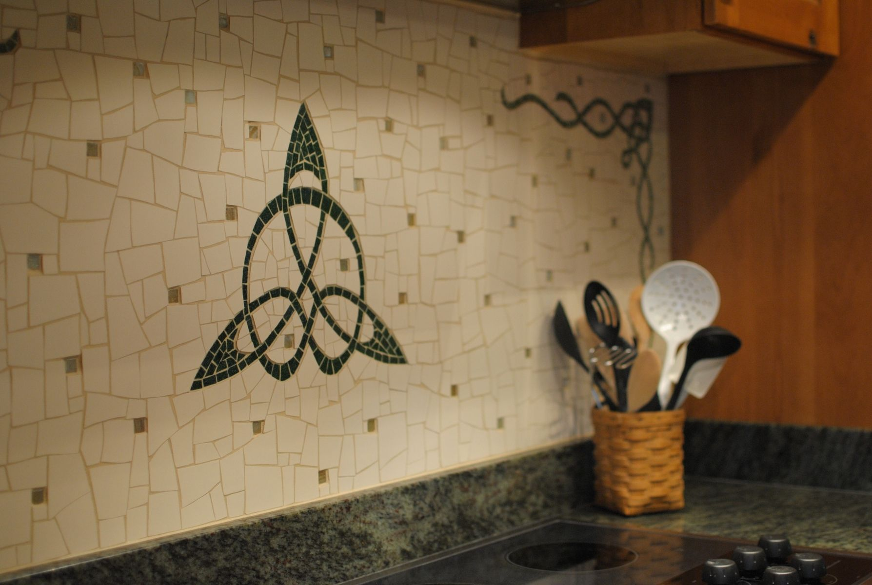 kitchen wall tiles ireland custom made celtic kitchen backsplash by handcraft 6459