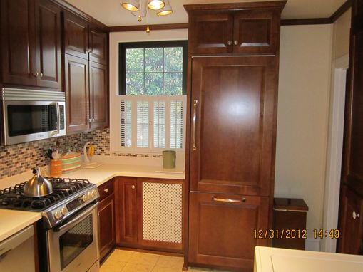 Custom Made Maple Cabinetry