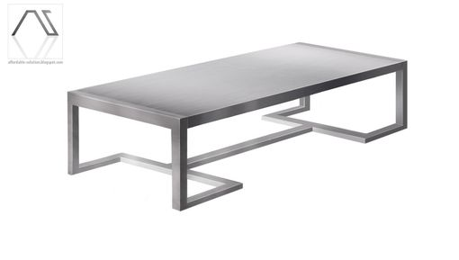 Custom Made Sleek Modern Table
