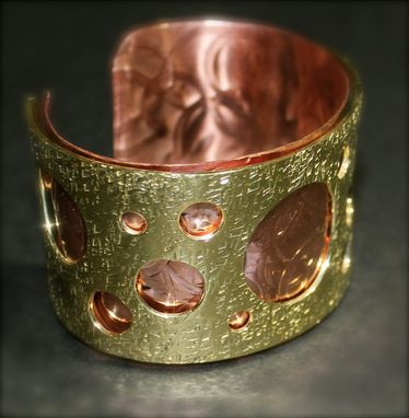 Custom Made Couture Metal Reversable Bangle