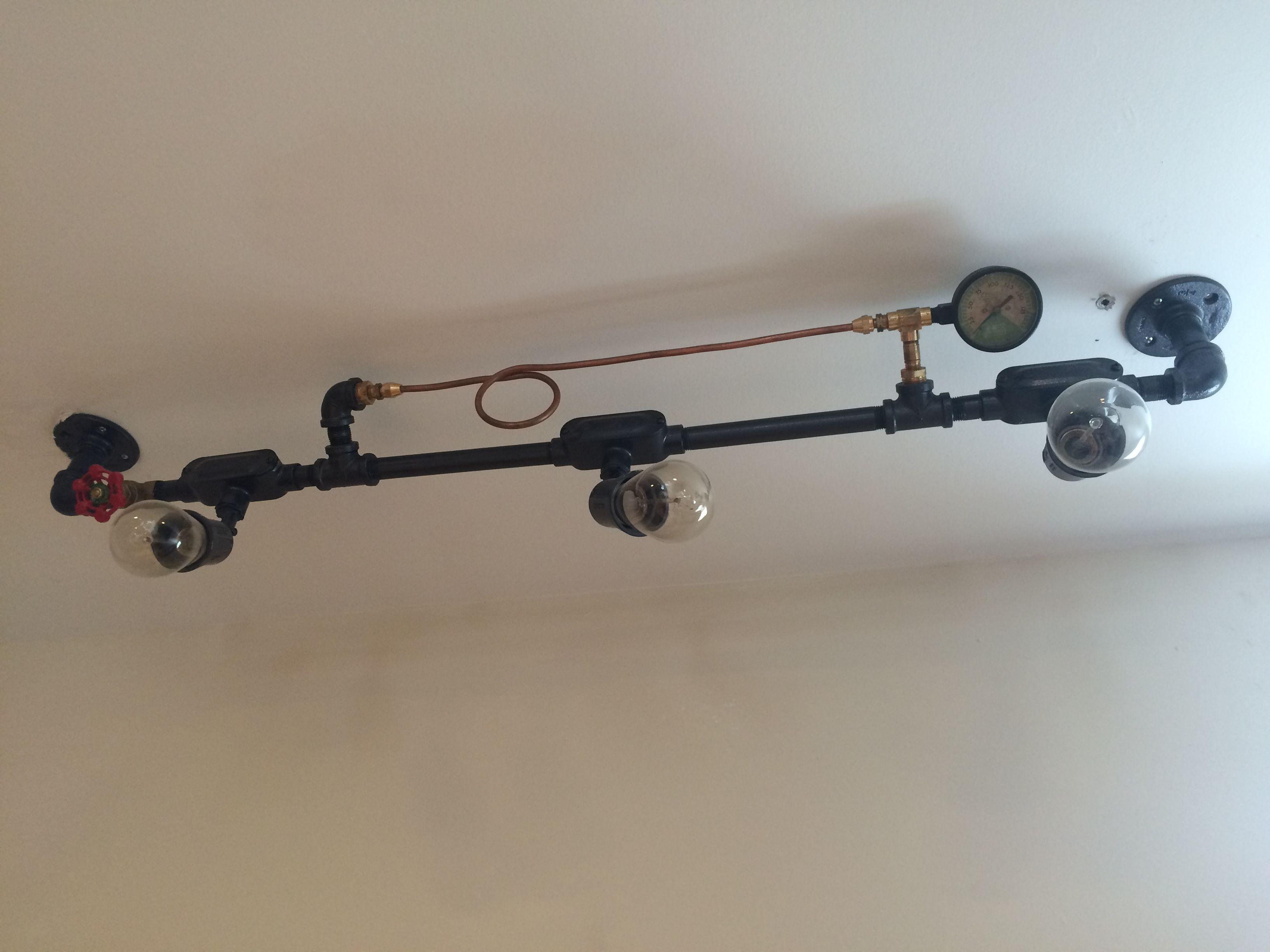 industrial pipe lighting. Industrial Pipe Lighting. Custom Made Design Lighting E