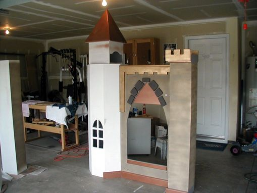 Custom Made Bunk Bed Castle