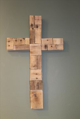 Custom Made Pallet Wood Cross