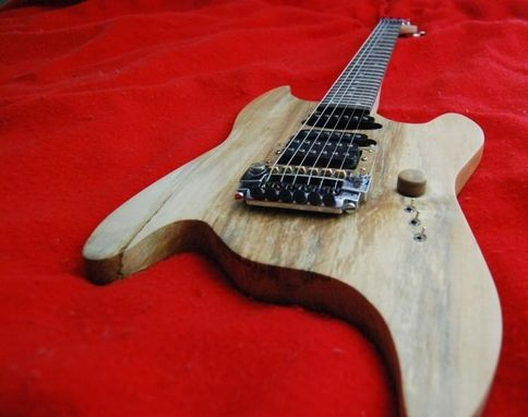 Custom Made Z-Max Shadow, Solid Body Electric Guitar S002