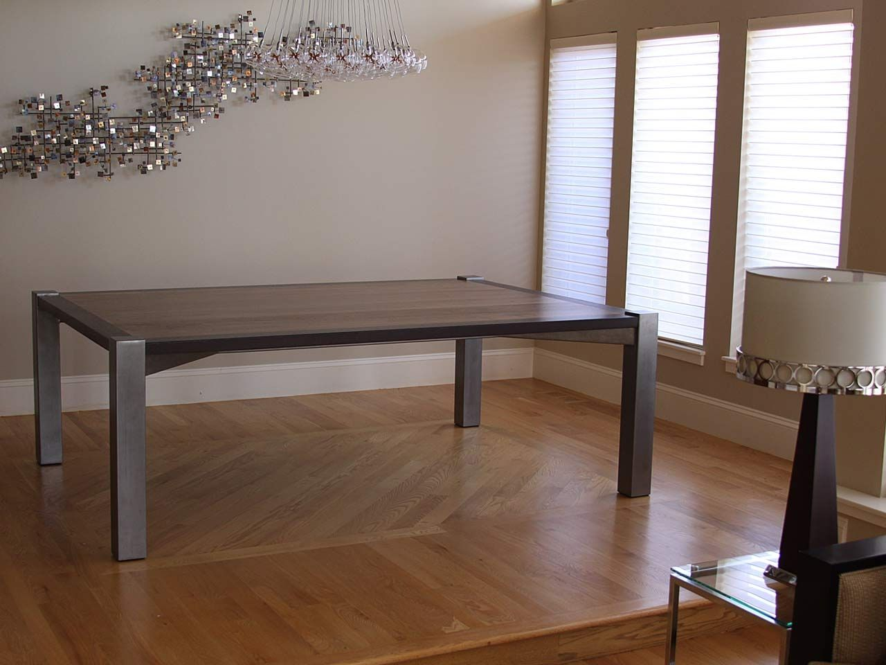 Hand Crafted Black Walnut Wenge Dining Table By Where Wood