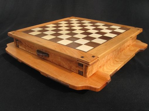 Custom Made Greene And Greene Inspired Chess Board