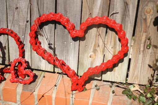 Custom Made Metal Heart Art Wall Art Sculpture