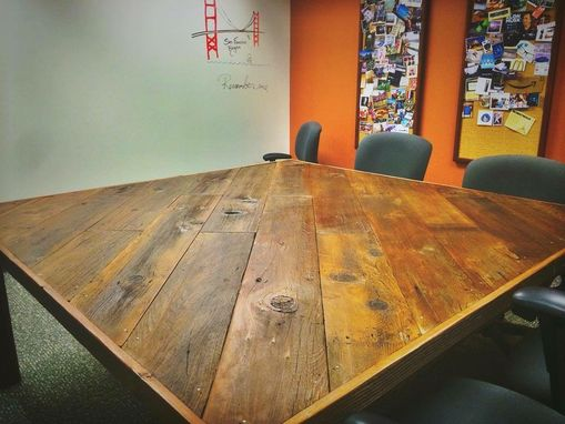 Custom Made Slantwood Conference Table For Toyota Corporation
