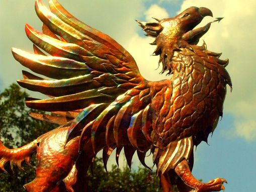 Custom Made Griffin Weathervane