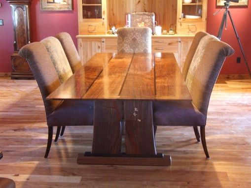 Custom Made Dogwood Dining Table