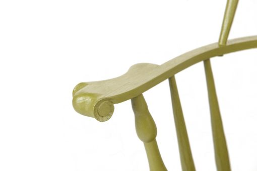 Custom Made Sack Back Windsor Chair With Tall Crest Rail