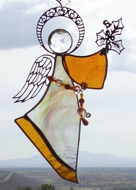 Custom Made Stained Glass Angel Ornaments/Suncatchers/Gifts