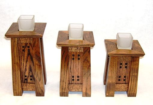 Custom Made Votive Candle Stands