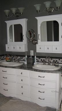 Custom Made Antique Look Bath Medicine Cabinets