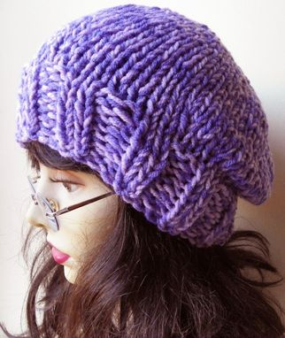 Custom Made The Winterberry Hat In Plum Purple