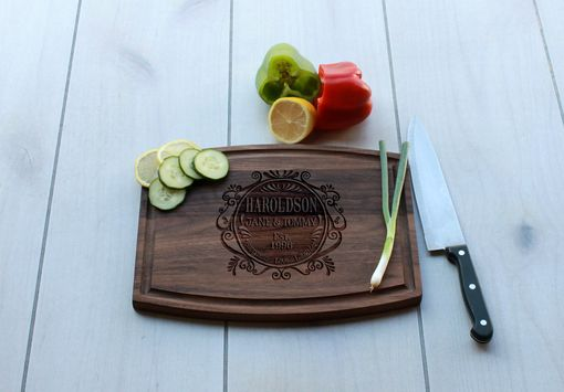 Custom Made Personalized Cutting Board, Engraved Cutting Board, Custom Wedding Gift – Cba-Wal-Haroldson