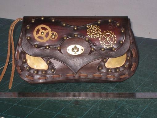 Custom Made Steampunk Clutch