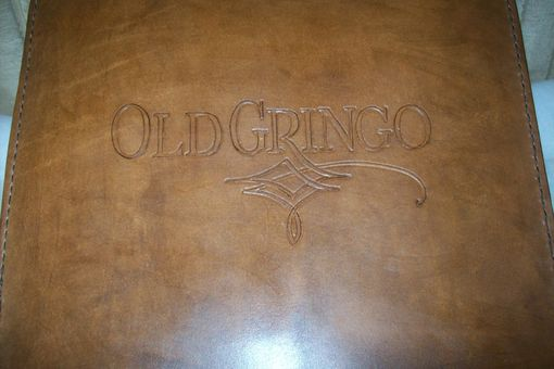 Custom Made Custom Leather Business Binder
