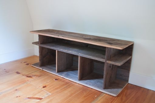 Custom Made Book/Toy Storage With Reclaimed Wood