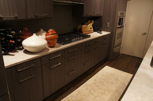 Custom Made Beautiful Custom Kitchen With Walnut Panels