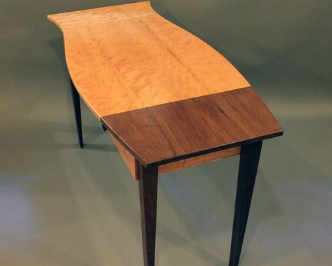 Custom Made Custom Made Desk Of 3 Premium Woods