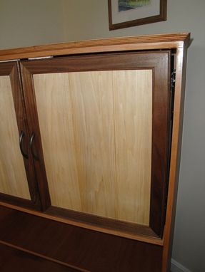 Custom Made Flat-Screen Tv Mount Cabinet Entertainment Center