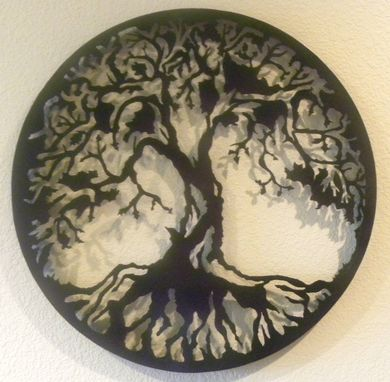 Custom Made Tree Of Life Metal Wall Art