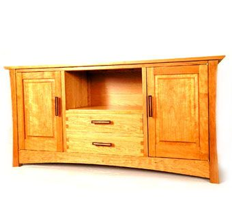 Custom Made Solid Cherry City Sideboard