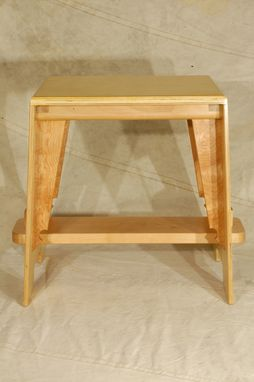 Custom Made Birch Dressing Stool