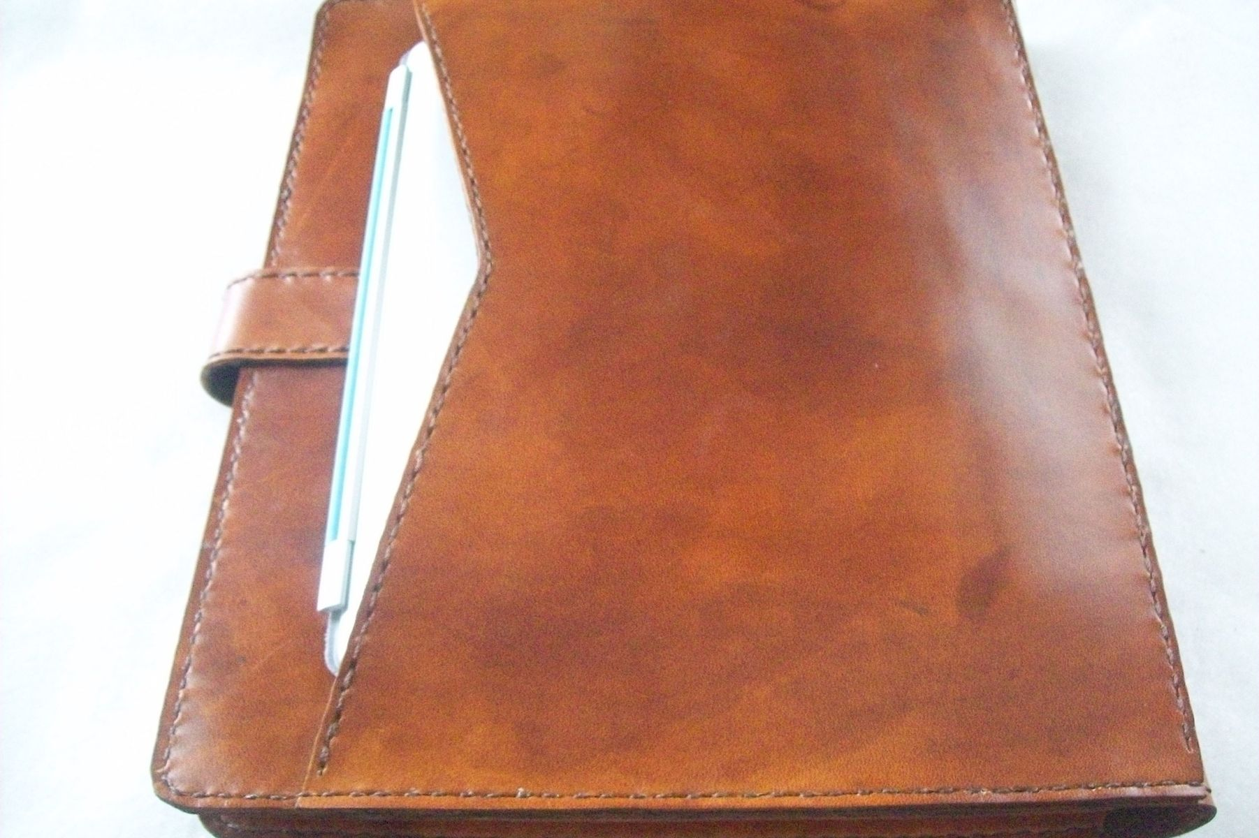 Custom Made Leather Binder Portfolio