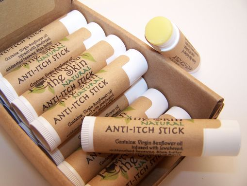 Custom Made Handmade Natural Anti-Itch Stick (Gluten Free) First Aid Companion