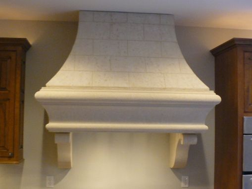 Custom Made Light Weight Stone Range Hoods
