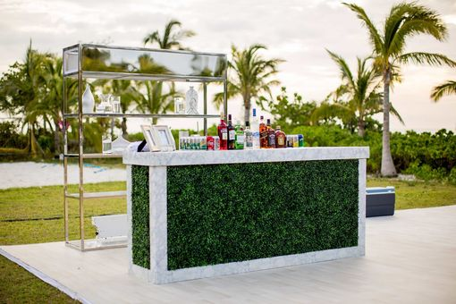 Custom Made Boxwood Marble Bar