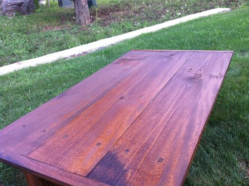 Custom Made Rustic Wood Coffee Table
