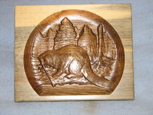 Custom Made Wall Art - Carved Wood