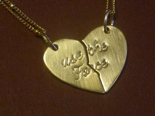 Custom Made Handcrafted Best Friends Necklace
