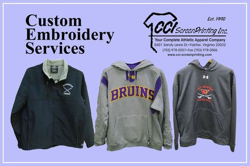 Custom Made Embroidery Services