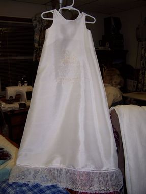 Custom Made Sailor Style Baptismal Dress
