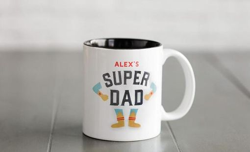 Custom Made Personalized Father's Day Mugs