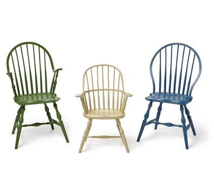 Custom Made Bench-Made Youth Windsor Chairs