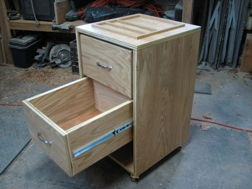 Custom Made Rolling Drawers